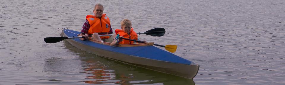 Faltbootfahrer